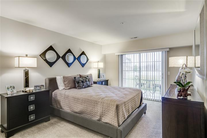 Luxury Master Bedroom to Patio