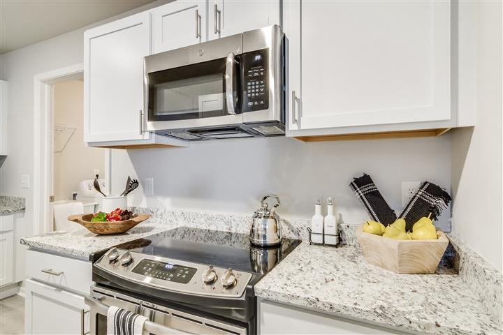 Granite Counters and Plenty of Storage