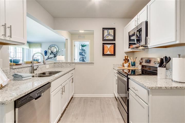 Stylish Kitchen Amenities & Space