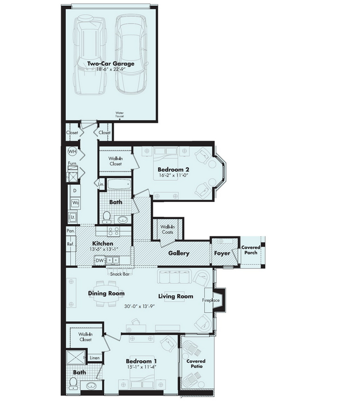 amour floorplan